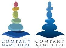 Spa kopplar av logo Royaltyfria Foton