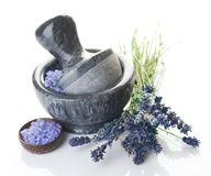 Spa.Lavender Stock Photo