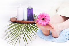 SPA for legs Royalty Free Stock Photography