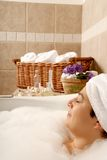 Spa life Stock Image