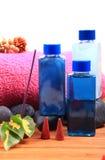 Spa liquids Stock Photo
