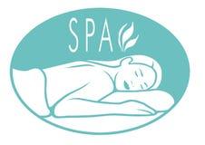 Spa Logo Royalty Free Stock Photo