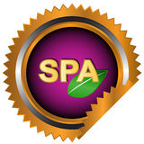 Spa logo Stock Images