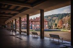 Spa LuhaÄ ovice, Tjeckien fotografering för bildbyråer