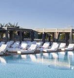 Spa Luxury Resort Pool Area Royalty Free Stock Image