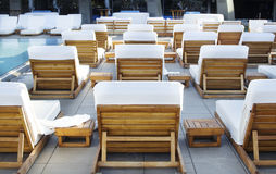 Spa Luxury Resort Pool Area Stock Images