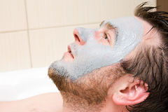 Spa man Royalty Free Stock Photography