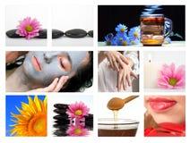spa masaż. obraz stock