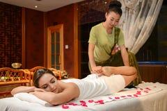 spa masaż Zdjęcia Royalty Free