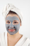 Spa mask #11 Stock Image