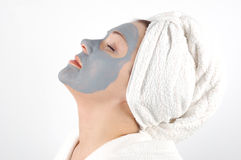 Spa Mask 12 Royalty Free Stock Image