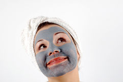 Spa mask #14 royalty free stock image