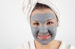 Spa mask #14 Stock Image