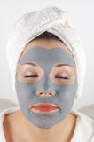 Spa mask #16 Royalty Free Stock Photography
