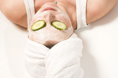 Spa mask Royalty Free Stock Photos