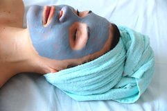 Spa mask #9 Royalty Free Stock Image