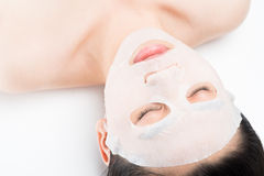 Spa mask Stock Photo