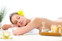 Spa massage Stock Photography