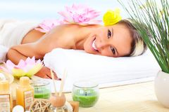 spa massage Royalty Free Stock Photography