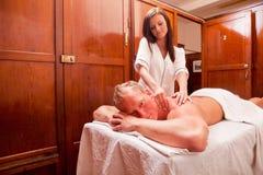 Spa Massage Stock Photos