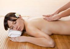 Spa massage royalty free stock photos