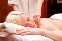 Spa Massage Royalty Free Stock Photos