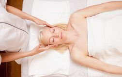 Spa Massage Royalty Free Stock Photo