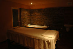 Spa & massage. Spa center with east massage Stock Image