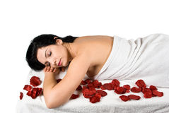 Spa massage royalty free stock image