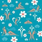 Spa massage decorative background Stock Images