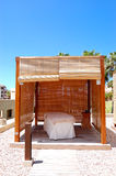 SPA massage hut at luxury hotel Stock Images