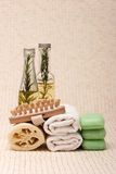 Spa and massage items Royalty Free Stock Images