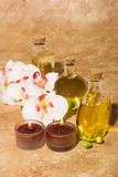 Spa massage items Royalty Free Stock Image