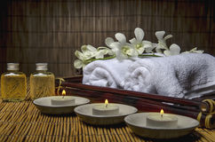 Spa and massage material Stock Image