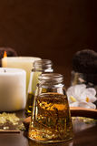 SPA massage oil Stock Images