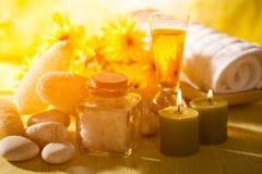 Spa massage oil with treaments spa. Spa massage oil with treatments spa stock photos