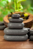 Spa Massage stones Royalty Free Stock Images