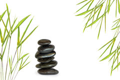 Spa Massage Stones stock photography