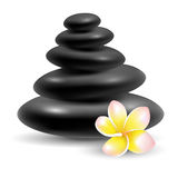 Spa massage stones Royalty Free Stock Photography