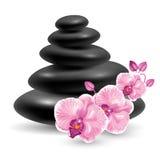 Spa massage stones Royalty Free Stock Photography