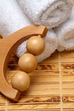 Spa massage tool Royalty Free Stock Photo