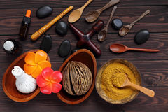 Spa and massage treatment for health body, this picture is high Stock Image