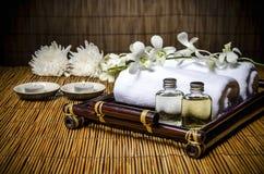 Spa & massage treatment Stock Photo