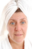 Spa matured woman Stock Images