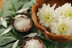 Spa med salt Royaltyfria Foton
