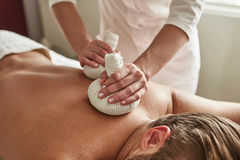 Spa for men Royalty Free Stock Images