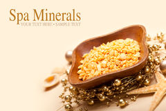 Spa minerals - Sea Spa Royalty Free Stock Photos
