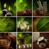 Spa mix Royalty Free Stock Images