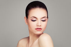Spa Model with Healthy Skin. Woman Face Stock Images