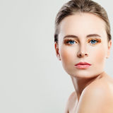 Spa Model Woman with Healthy Skin Stock Photo